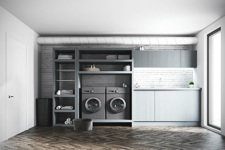 laundry room reno
